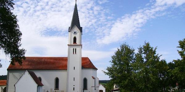 Gotteshaus in Obergrafendorf.
