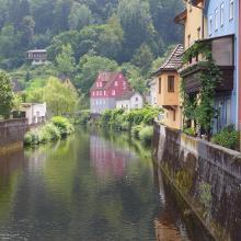 romantisches Plätzchen in Neuenbürg