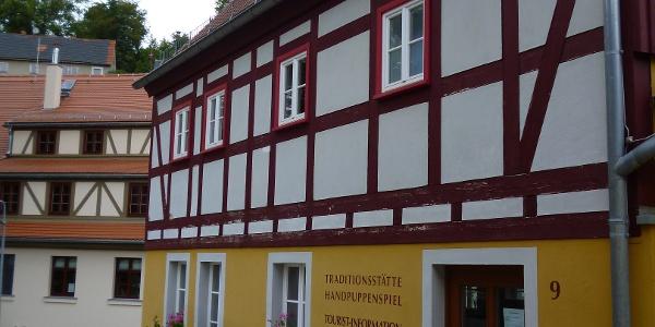 Handpuppenspiel in der Altstadt von Hohnstein