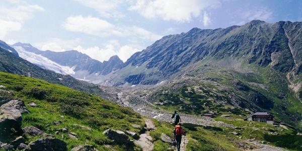 Richtung Sulzenau Hütte