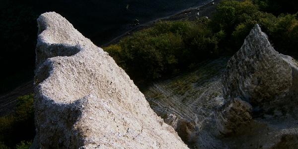 Der Ausblick von der Viktoria-Sicht.