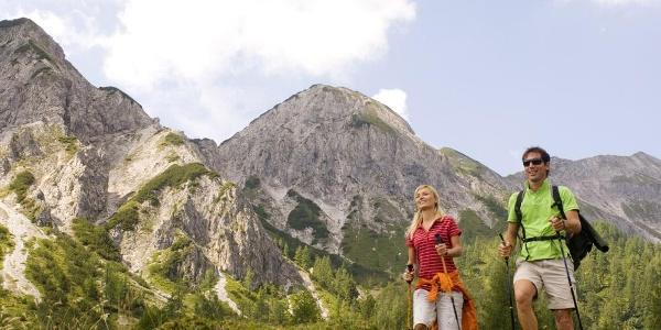 Alpin-Tour Zauchtal über Strimskogel