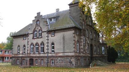 Das Schloss Philippshof in Putlitz.