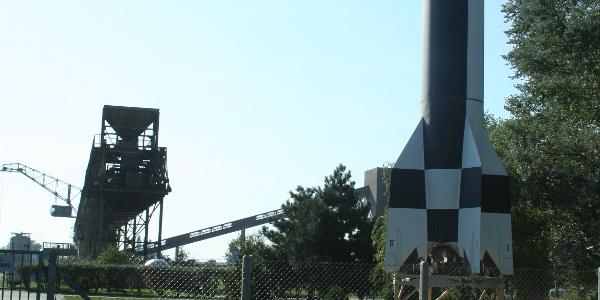 In Peenemünde startete die erste Fernrakete der Welt.