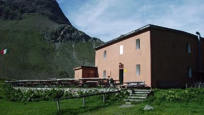 Das Rifugio Val Viola.