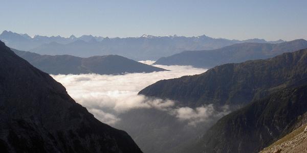 Blick zu den Ötztaler Alpen