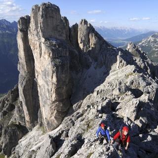 Elferkofel Klettersteig