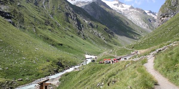Clarahütte mit Wasserschaufelrad