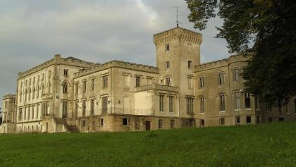 Das Herrenhaus in Varchentin.
