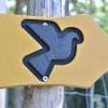 Markierungszeichen des Glaubensweges