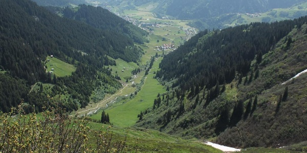 Val Segnas - die Route