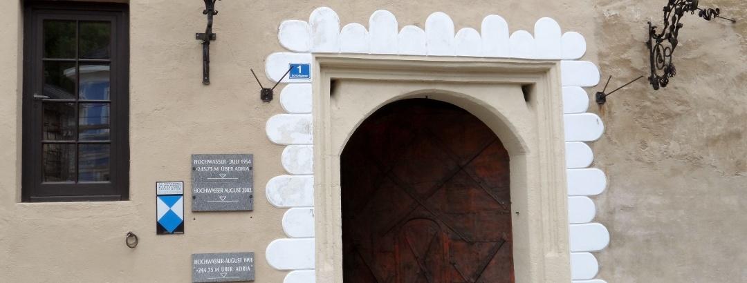 Schloss Pragstein_Eingang