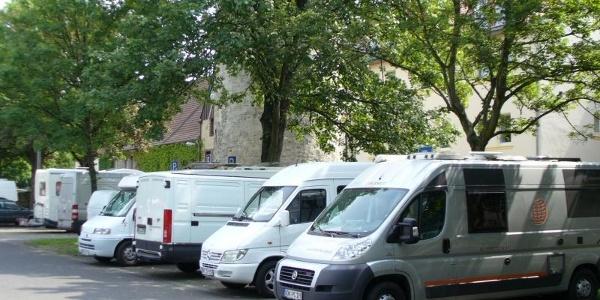 Wohnmobilstellplatz Maspernplatz