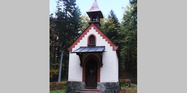 Die Kapelle St. Wendelin liegt an unserer Route.