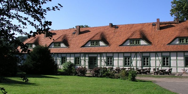 Die Marställe von Schloss Friedrichsmoor sind heute ein Hotel.