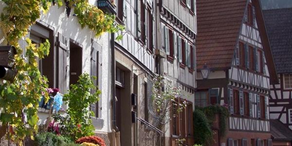 Blick in die Altstadt von Schiltach.