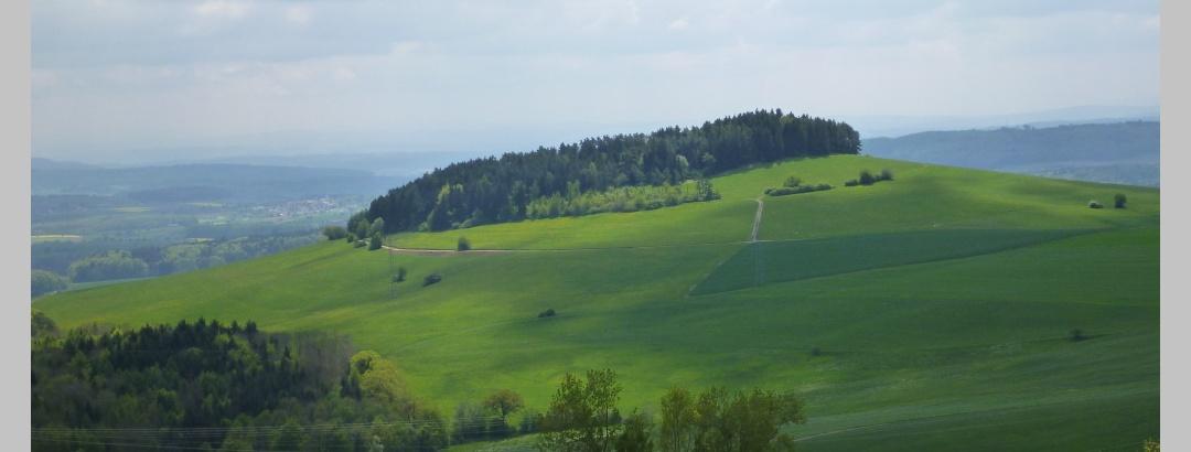 Blick von der Spitzhütte auf den Wannenberg