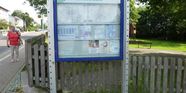 Bushaltestelle Rothwesten-Raiffeisenbank