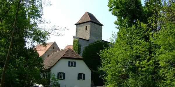 ...liegt Schloss Tierberg