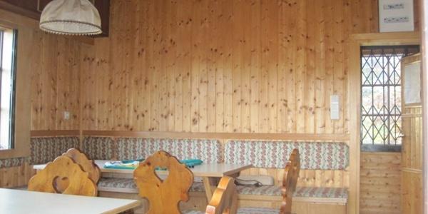 Kampthalerhütte Sitzgelegenheit