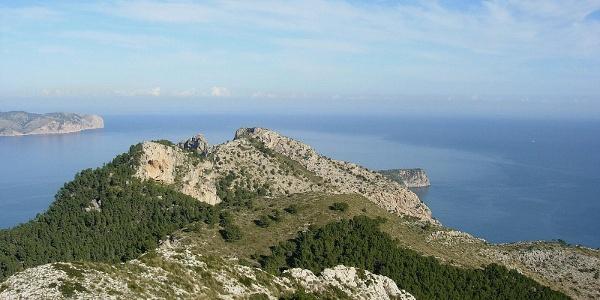 Ausblick von der Talaia de Alcúdia