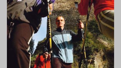 Nordic Walking ist ein Sport für die ganze Familie.