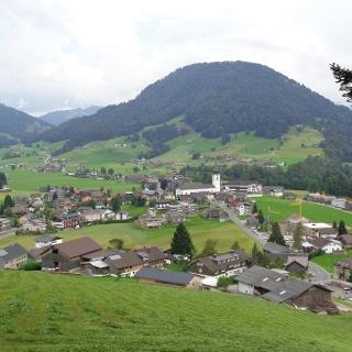 Blick Hittisau Hittisberg