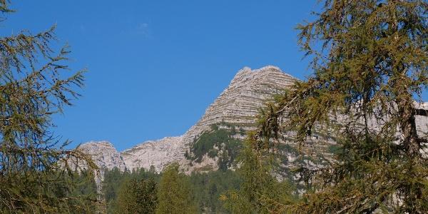 Ramesch von der Talstation Frauenkarlift 1397m gesehen.
