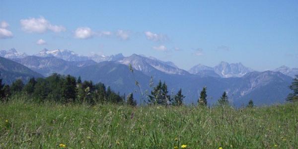 Ein herrlicher Ausblick ins Karwendel.