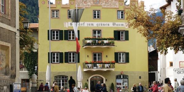 """Der Gasthof """"Grüner Baum"""" in Glurns"""