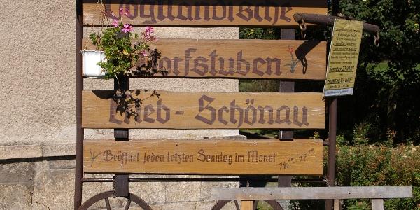 Vogtländische Dorfstuben Trieb - Schönau