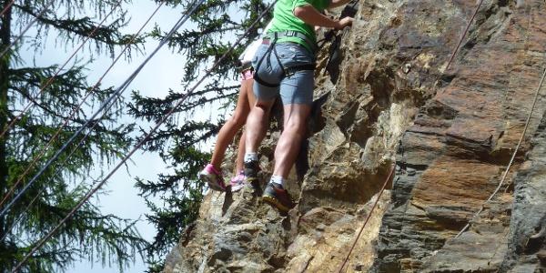 Klettern auch für Kleine