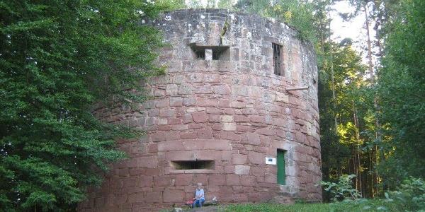 Ruine Klein Frankreich