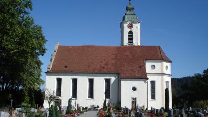 barocke Pfarrkirche St. Ulrich und Magnus in Bodnegg