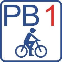 """Routenlogo """"PB 1"""""""