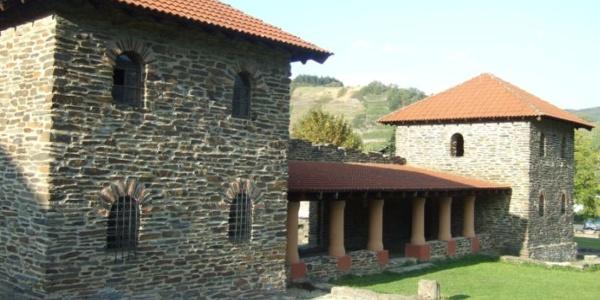 Die Villa Rustica in Mehring.
