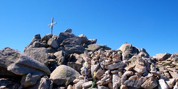 Monte Renoso 2352m mit Gipfelkreuz