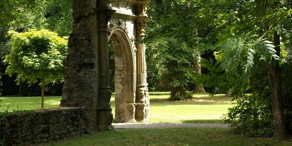 Prachttor im Schlosspark
