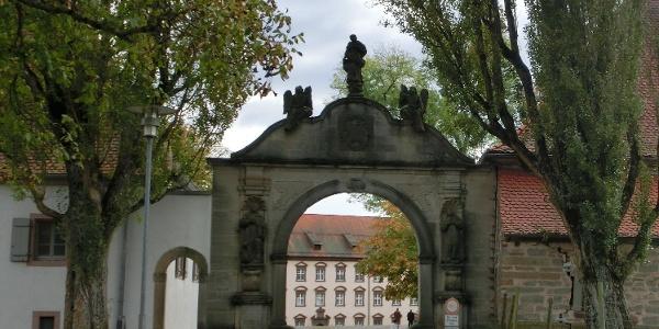 Eingangstor Kloster Kirchberg