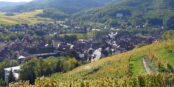 Über den Dächern von Ribeauvillé