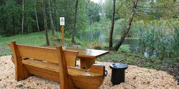Entspannen am Teich