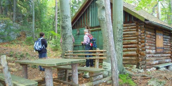 Jagdhütte unterhalb des Ofenberges