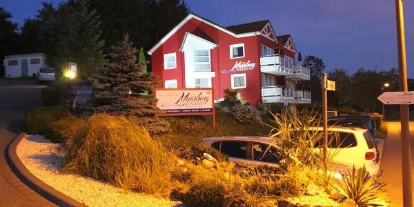 Abendstimmung  im Maarberg Resort