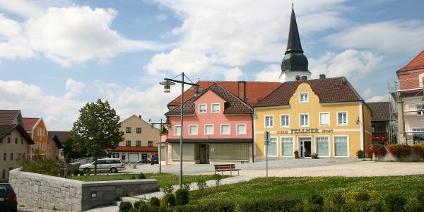 Startpunkt in Simbach Ortszentrum.