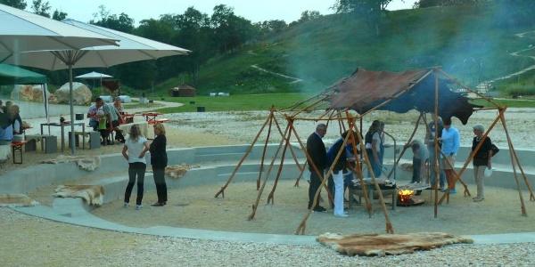 Grillplatz im Archäopark