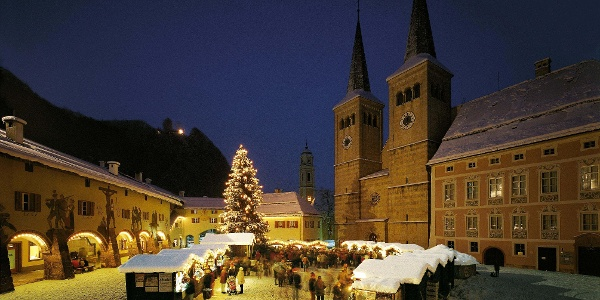 Weihnachtsmarkt in Berchtesgaden