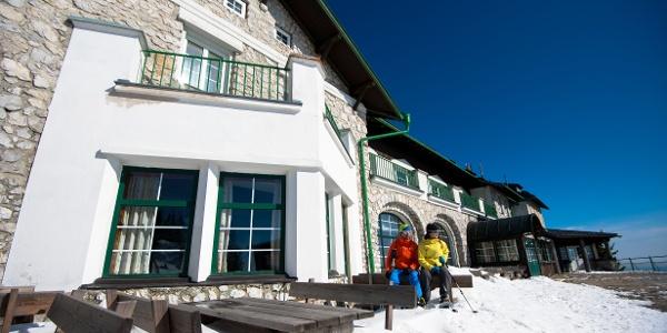 Schneeschuhwandern auf der Rax - Ottohaus