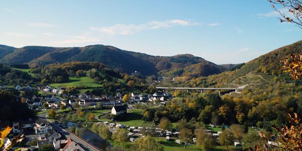 Blick auf Altenburg