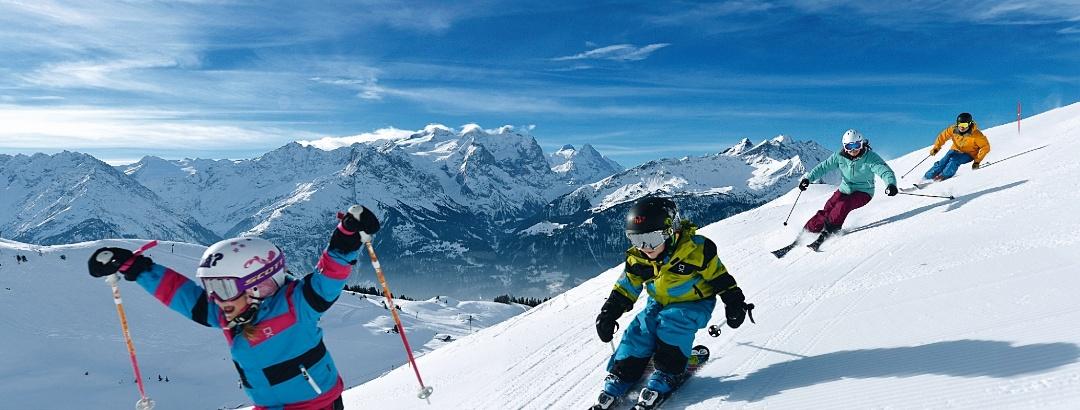 Skispaß für die ganze Famile...