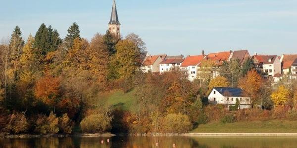Stausee Schömberg